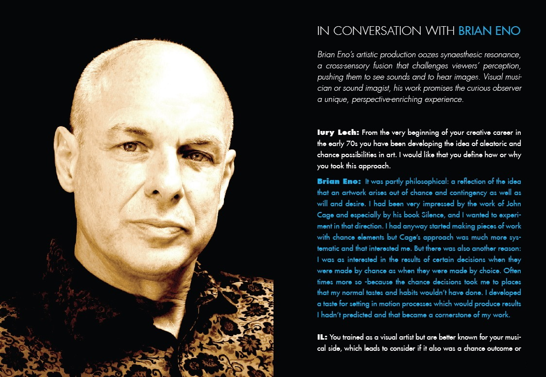 In Conversation With Brian Eno