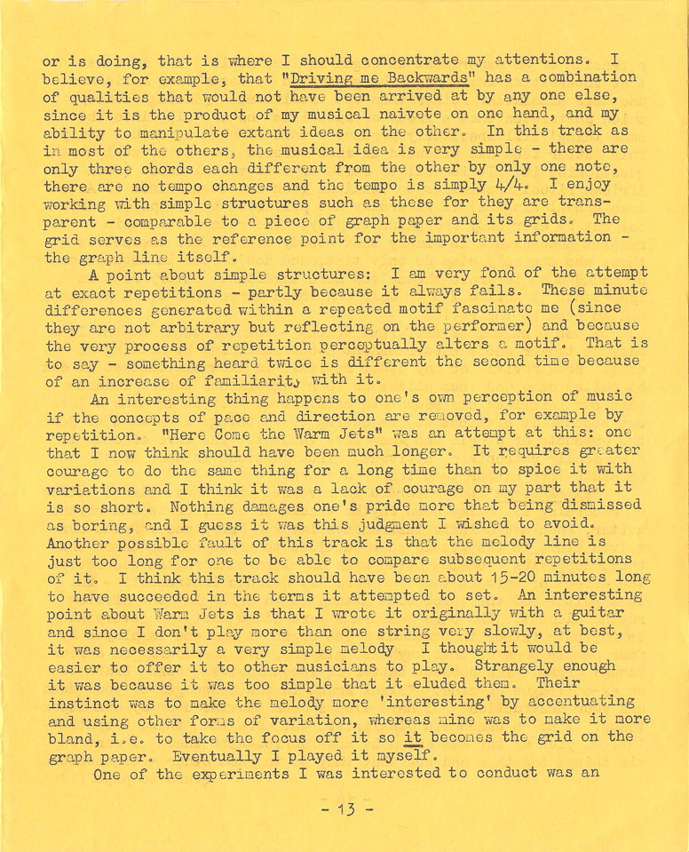 Enovations Newsletter May 1976 (page 13)