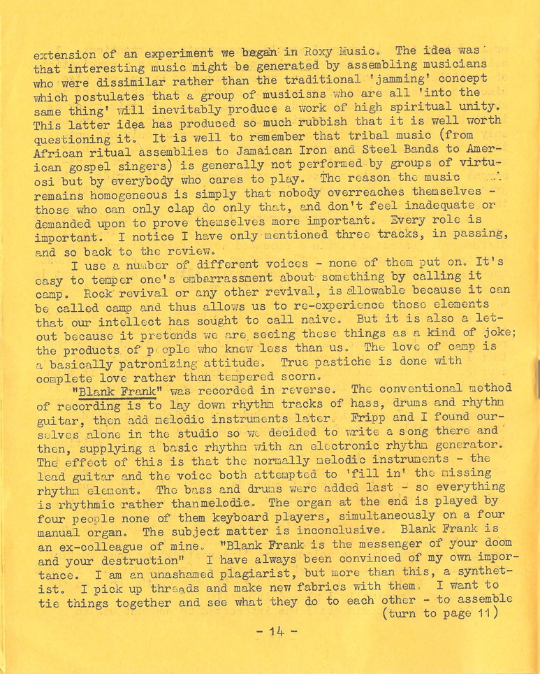 Enovations Newsletter May 1976 (page 14)