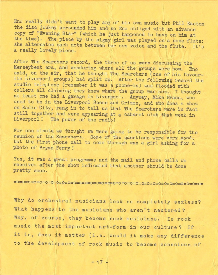 Enovations Newsletter May 1976 (page 17)