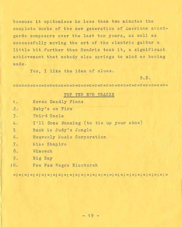 Enovations Newsletter May 1976 (page 19)