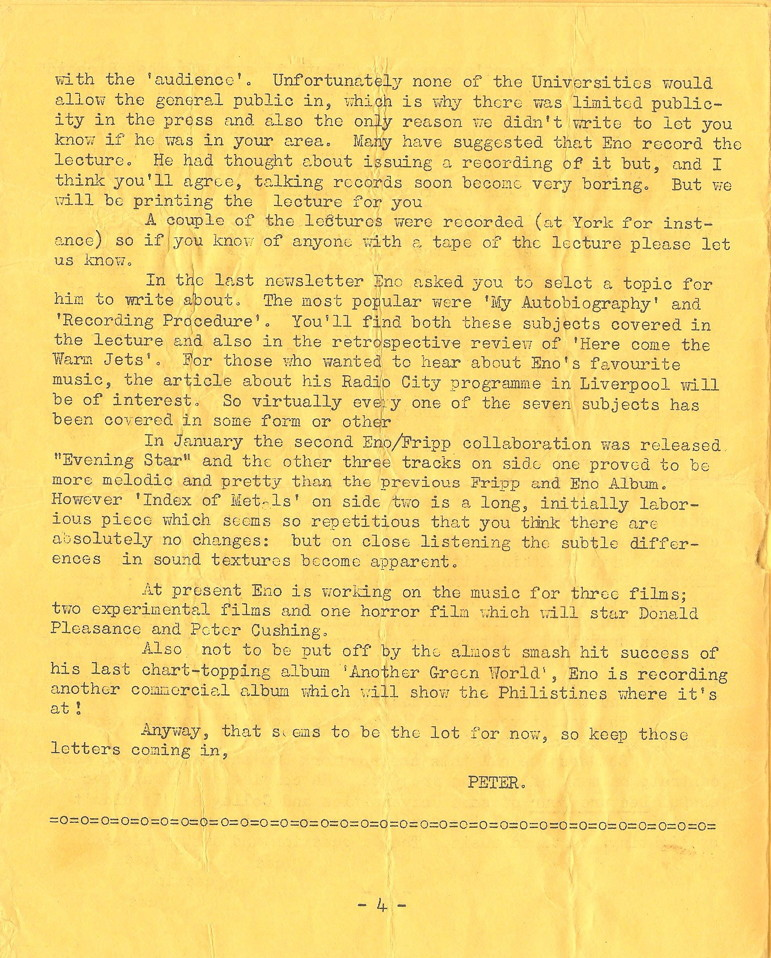 Enovations Newsletter May 1976 (page 4)