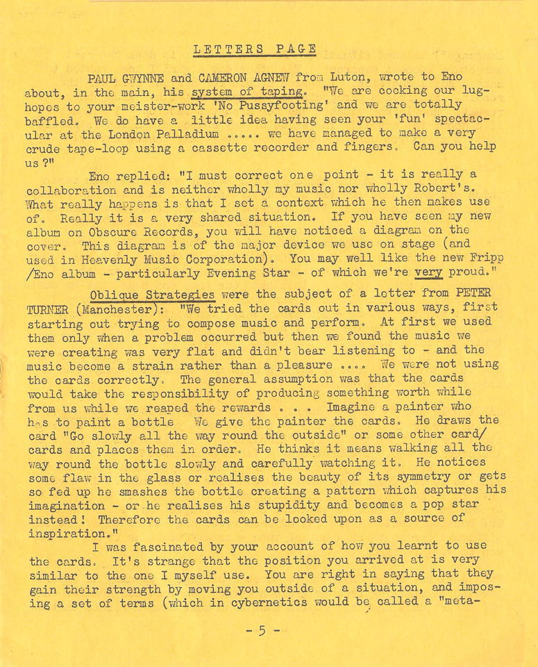 Enovations Newsletter May 1976 (page 5)
