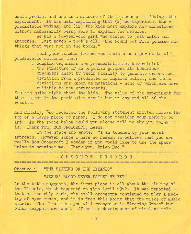 Enovations Newsletter May 1976 (page 7)