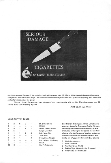 Enovations Newsletter Summer '79 (page 11)