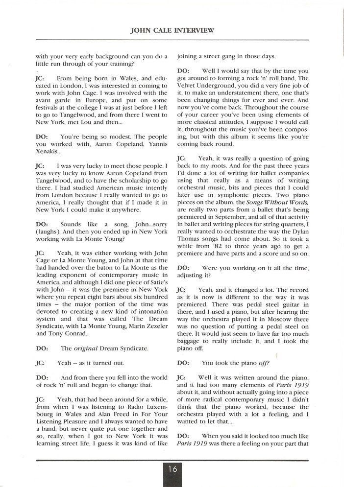 Opal Information: Number 14 (page 16)
