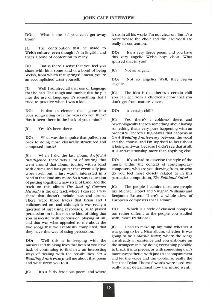 Opal Information: Number 14 (page 18)